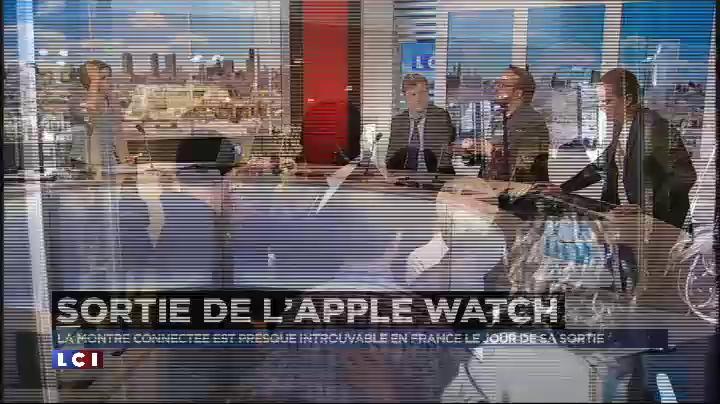 Apple Watch : les Fran�ais se pressent mais la montre est quasiment introuvable