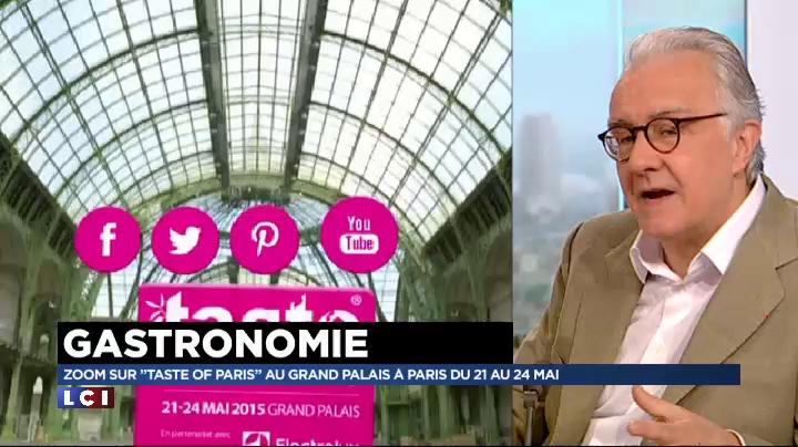 Alain Ducasse , parrain de « Taste of Paris »