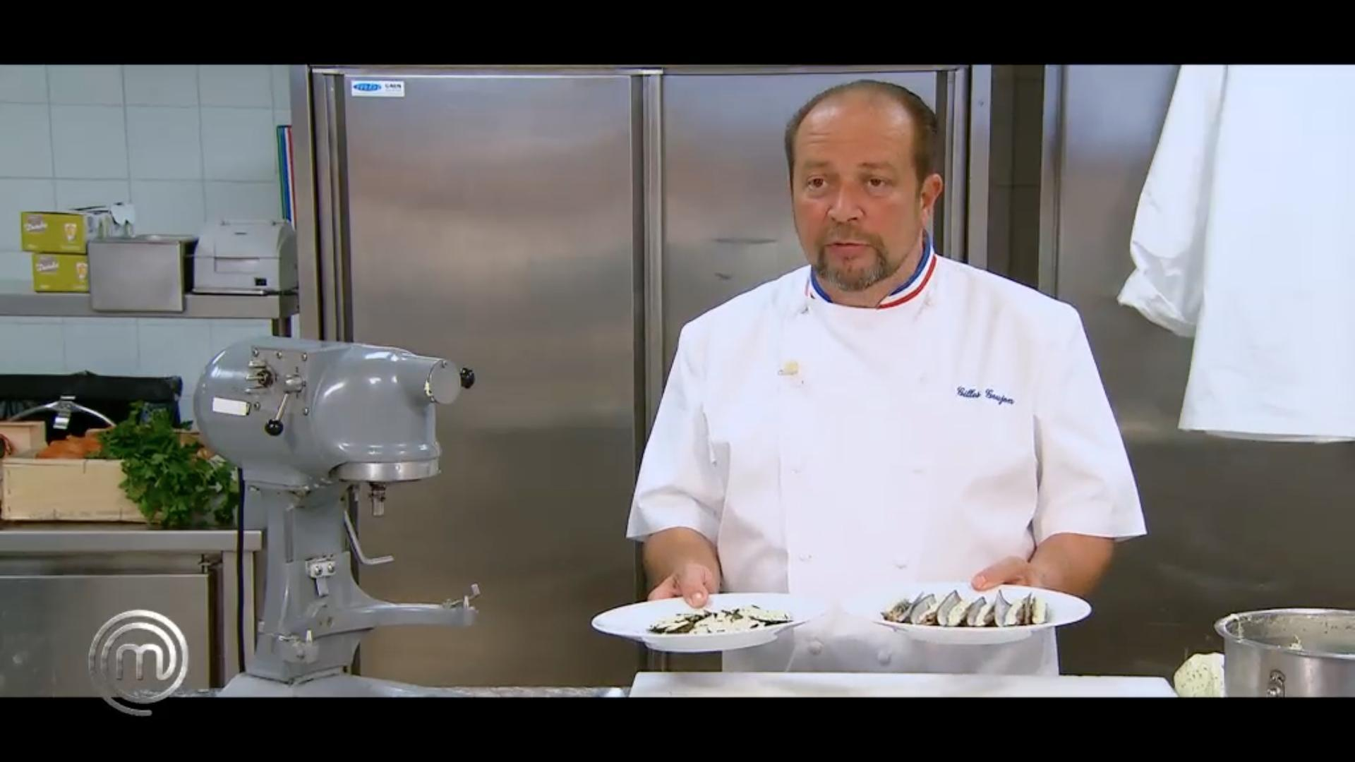 Recette beurre d'escargot de Gilles Goujon