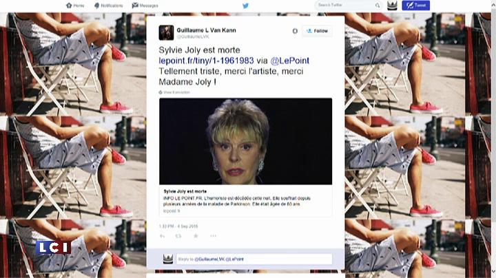 L'humoriste Sylvie Joly est d�c�d�e � l'�ge de 80 ans