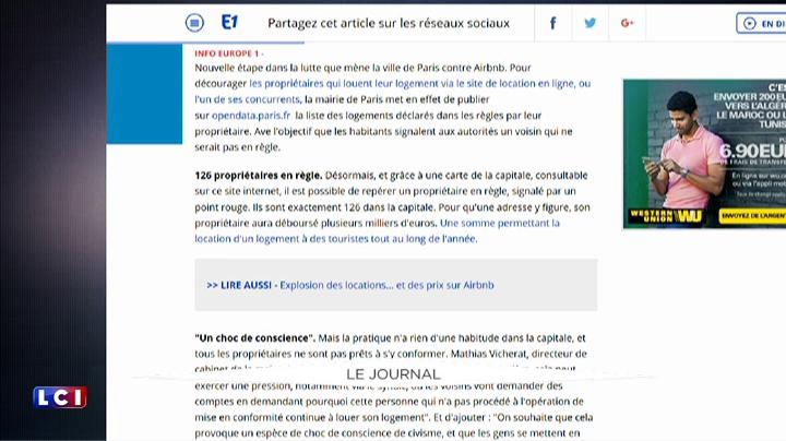 Airbnb : la mairie de Paris vous encourage � d�noncer vos voisins
