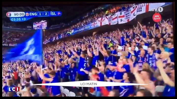 Euro : le commentateur fou de la TV islandaise a encore frapp�