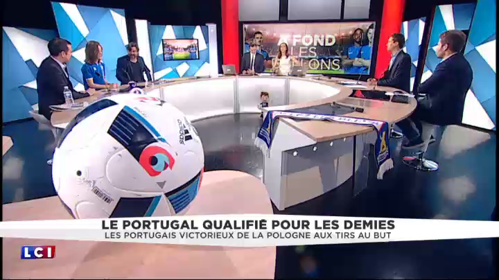 Quaresma qualifie le Portugal : le cri de joie des commentateurs