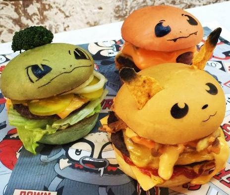 Un restaurant australien invente le hamburger Pokémon