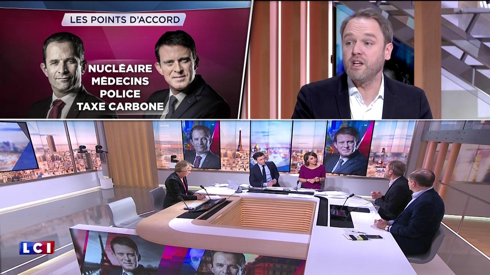 Quelles sont les différences entre les programmes économiques de Manuel Valls et Benoît Hamon ?