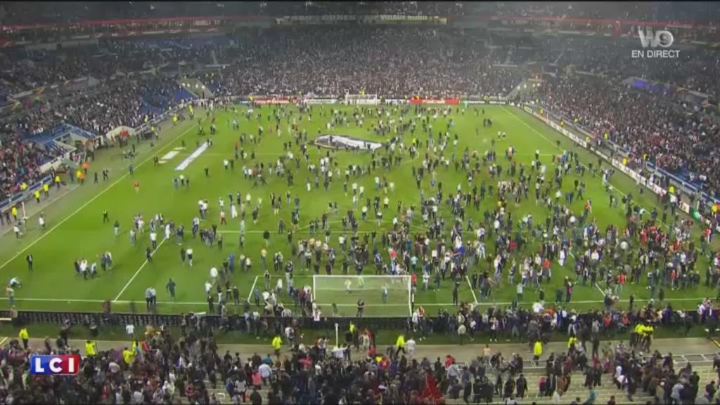 Incidents du match Lyon-Besiktas