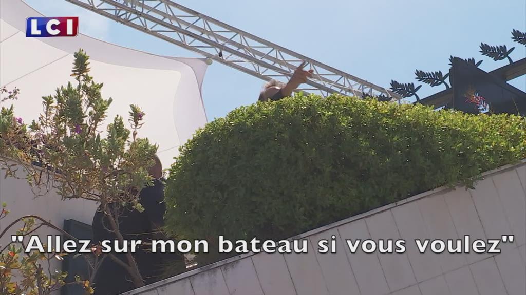 Cannes 2017 : Lindon blague avec ses fans juste avant son photocall