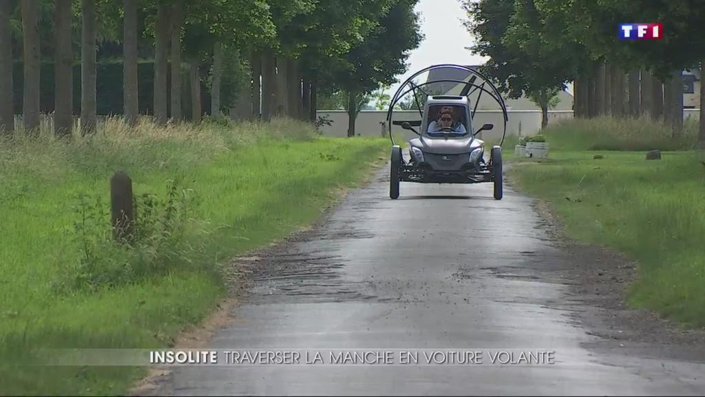 Au Salon du Bourget, la voiture volante fait sensation