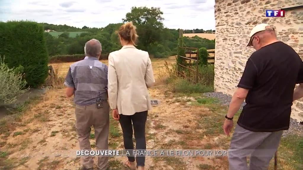 Au coeur de la France des chercheurs d'or