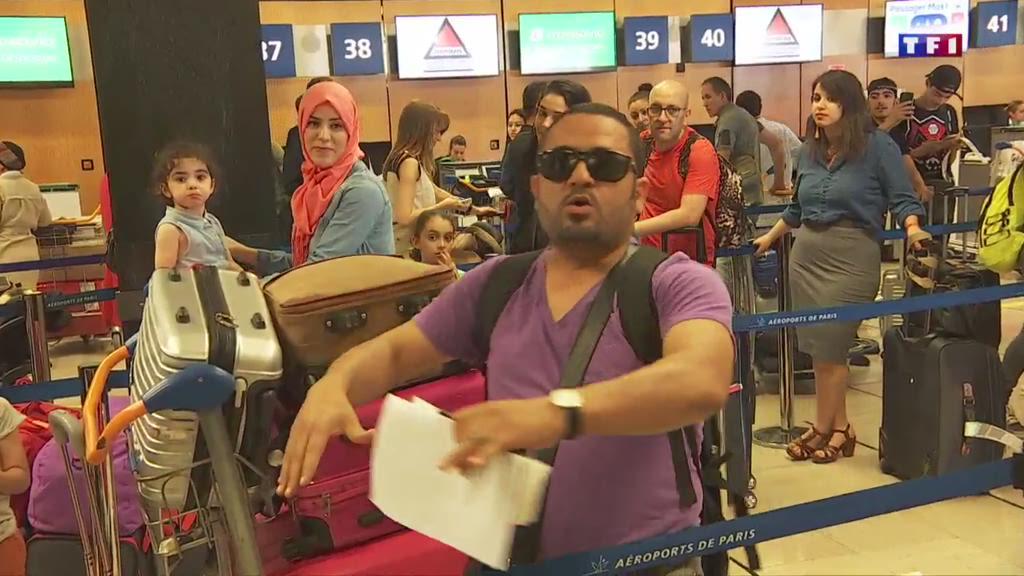 Aéroports : des files d'attentes interminables