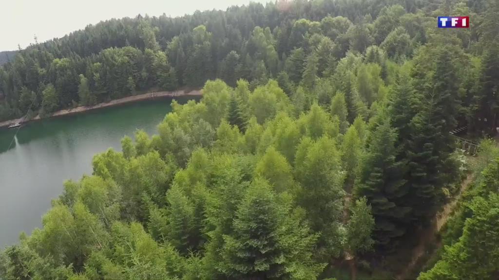 En Meurthe-et-Moselle, les lacs de Pierre-Percée attirent les foules