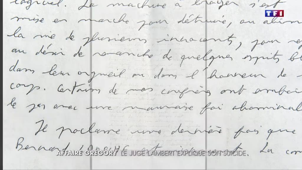 Affaire Grégory : le juge Lambert explique son geste dans une lettre post-mortem