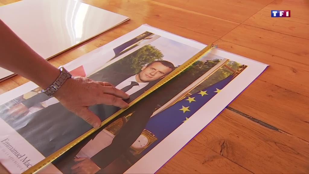 Photo trop grande du président : un casse-tête pour les maires