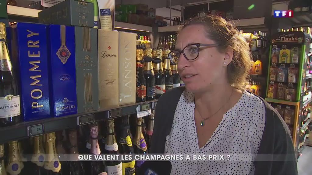 Que valent les champagnes à bas prix vendus en grande surface ?