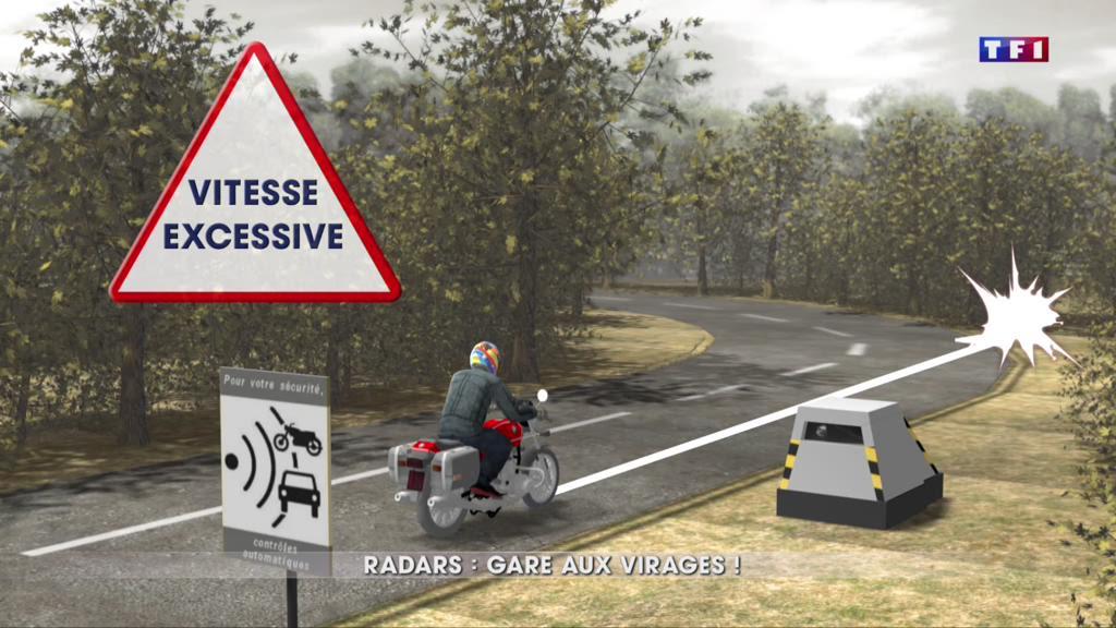 Sécurité routière : des radars dans les virages ?