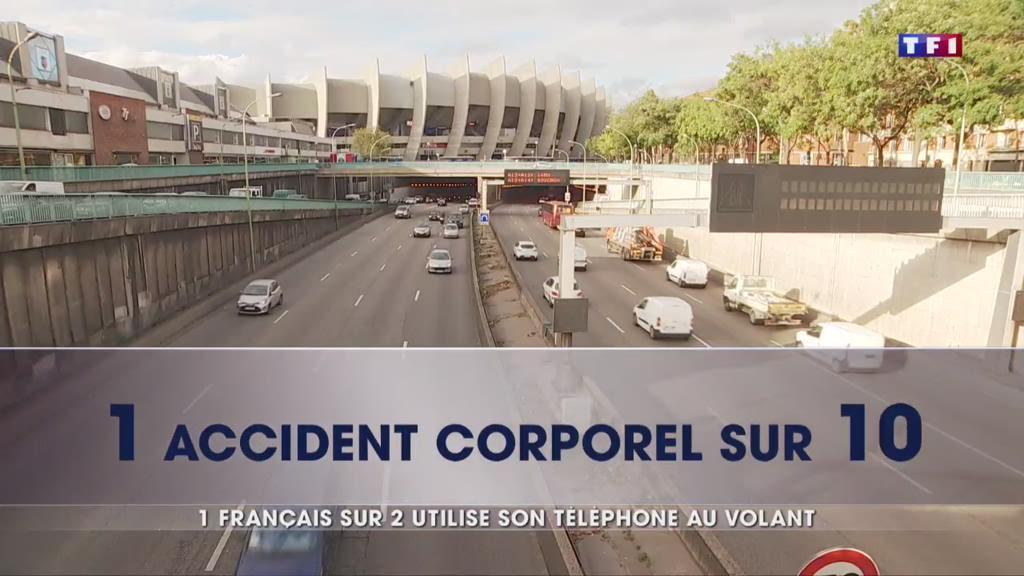 Sécurité routière : 1 Français sur 2 utilise son téléphone au volant