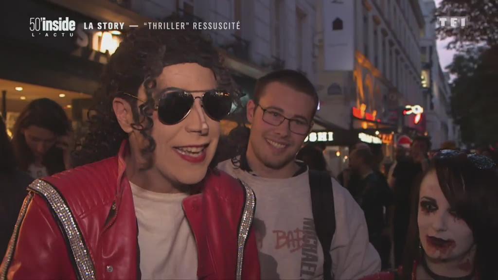 Thriller, le clip mythique de Michael Jackson, ressuscité !