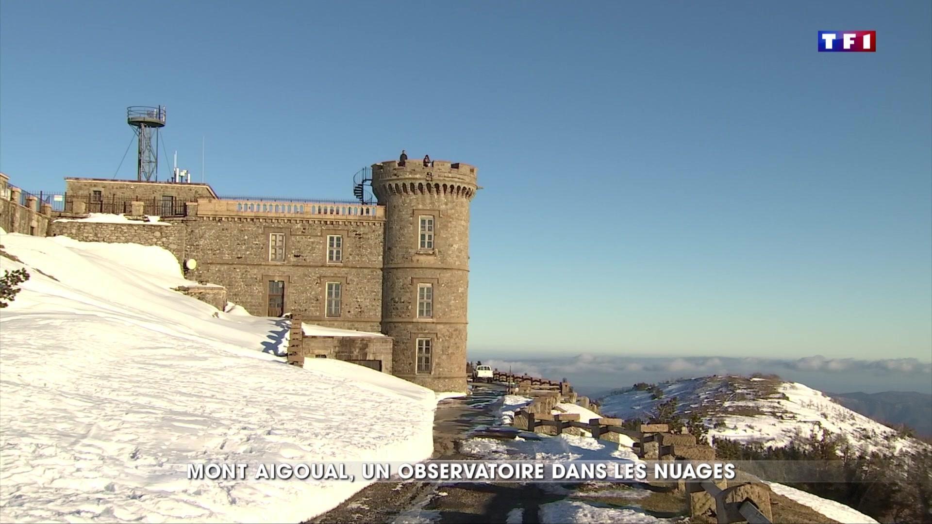 À la découverte de l'observatoire météo du Mont Aigoual
