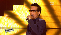 Vigon chante Soulman en direct dans the voice
