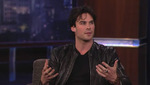 The Vampire Diaries, video Interview Ian Somerhalder dans Jimmy Kimmel Live